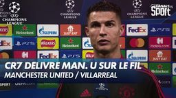 CR7 et le but de la victoire (2-1) - Man. U / Villarreal