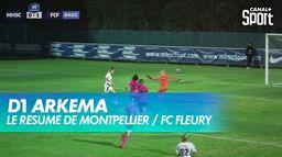 Fleury s'impose à Montpellier (2-1) - D1 ARKEMA