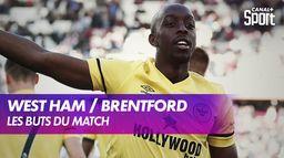 Les buts de Brentford / West Ham