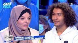 Le face-à-face tendu entre Anyss, pro-Zemmour et Lilia, contre le journaliste
