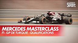 Opération parfaite pour Mercedes en qualifications