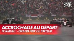 Le départ est donné, Alonso en tête-à-queue