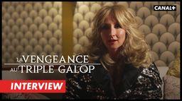 La Vengeance au Triple Galop - L'interview d'Audrey Lamy