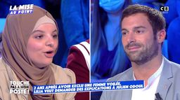 Le face-à-face houleux entre Julien Odoul et Lilia, étudiante portant le voile