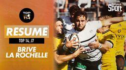 Le résumé de Brive / La Rochelle