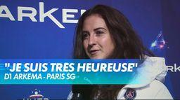Sara Däbritz élue joueuse du mois de septembre - Paris SG