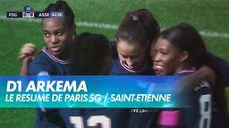 Le PSG s'impose face à l'ASSE (2-0) - D1 ARKEMA