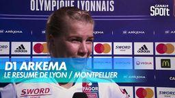 Victoire des Lyonnaises face à Montpellier (5-0) - D1 ARKEMA
