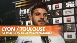 La réaction de Romain Ntamack