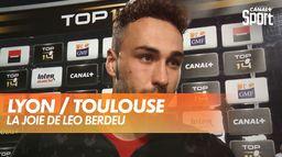 La joie de Léo Berdeu