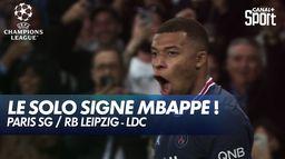 L'ouverture du score de Kylian Mbappé ! - Paris SG / RB Leipzig