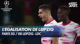 L'égalisation de Leipzig ! Paris SG / RB Leipzig