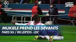 Mukiele donne l'avantage à Leipzig ! - Paris SG / RB Leipzig