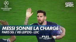 Lionel Messi relance le PSG ! - Paris SG / RB Leipzig
