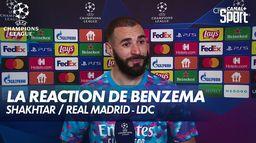 La réaction de Karim Benzema après Shakhtar / Real Madrid