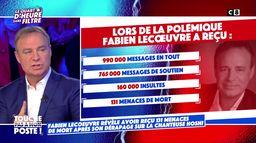Fabien Lecœuvre menacé de mort suite à ses propos polémiques sur la chanteuse Hoschi