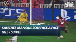 Renato Sanches manque son face-à-face avec le gardien andalou