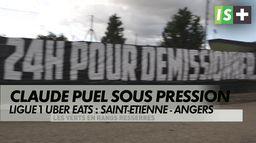 Claude Puel mis sous pression par les supporters stéphanois