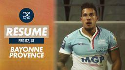 Le résumé de Bayonne / Provence Rugby
