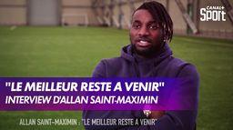 Interview d'Allan Saint-Maximin