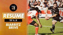 Le résumé de Biarritz / Brive