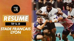 Le résumé de Stade Français / Lyon