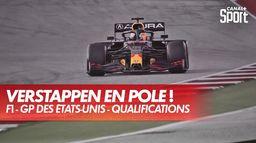 La pole pour Verstappen dans les derniers instants !