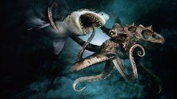 Mega Shark vs Octopus
