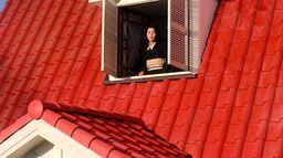 La maison au toit rouge