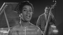 Sarah Vaughan «The Divine One» in 1958