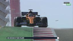 Des bosses et des plaies pour les Formule 1