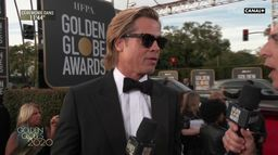 "Brad Pitt: ""Travailler avec Tarantino est une expérience inoubliable"" - Golden Globes 2020"