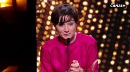 Nina Meurisse, meilleure révélation féminine aux Lumières 2020 pour le film Camille
