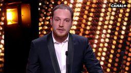 Alexis Manenti, meilleure révélation masculine aux Lumières 2020 pour Les Misérables
