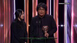 Parasite reçoit le prix du meilleur film étranger