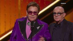 Elton John couronné par l'Oscar de la Meilleure Chanson Originale (RocketMan) - Oscars 2020