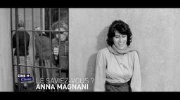 Le saviez-vous ? Anna Magnani