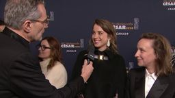 """Adèle Haenel """"On est contentes de pouvoir représenter notre cinéma et nos idées"""" - César 2020"""