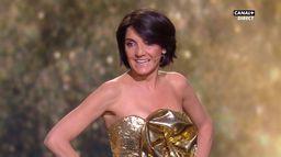 """Florence Foresti : """"T'as vu Vincent, je me suis habillée en César !"""" - César 2020"""