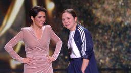 Laura Felpin très en forme pour remettre le César du Meilleur Son - César 2020