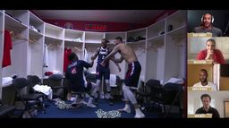 Rudy Gobert, Nicolas Batum et Amath M'Baye revivent l'exploit contre les USA : #RunThatBack - Episode 2
