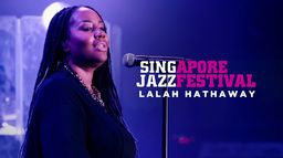Singapore jazz festival Lalah Hathaway