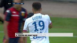 Le jeune joueur de l'OL Amine Gouiri rejoint l'OGC Nice