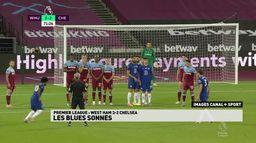 Chelsea chute face à West Ham malgré un doublé de Willian