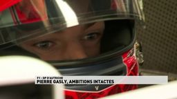 Pierre Gasly, ambitions intactes