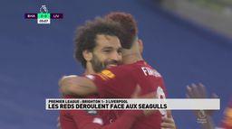 Les Reds déroulent face aux Seagul