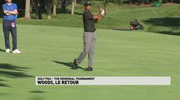 Tiger Woods, le retour