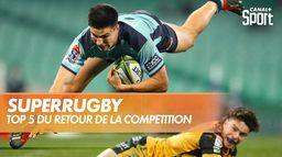 Le TOP 5 du retour du Super Rugby