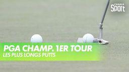 Les plus longs putts de la journée : PGA Championship 2020 - 1er Tour