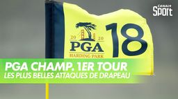 Les plus belles attaques de drapeau : PGA Championship 2020 - 1er Tour